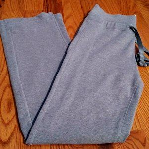 Serra Light Gray Drawstring Yoga Pants